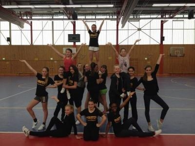 Erfolgreiches Trainingscamp der Junior-Cheerleader am letzten Wochenende